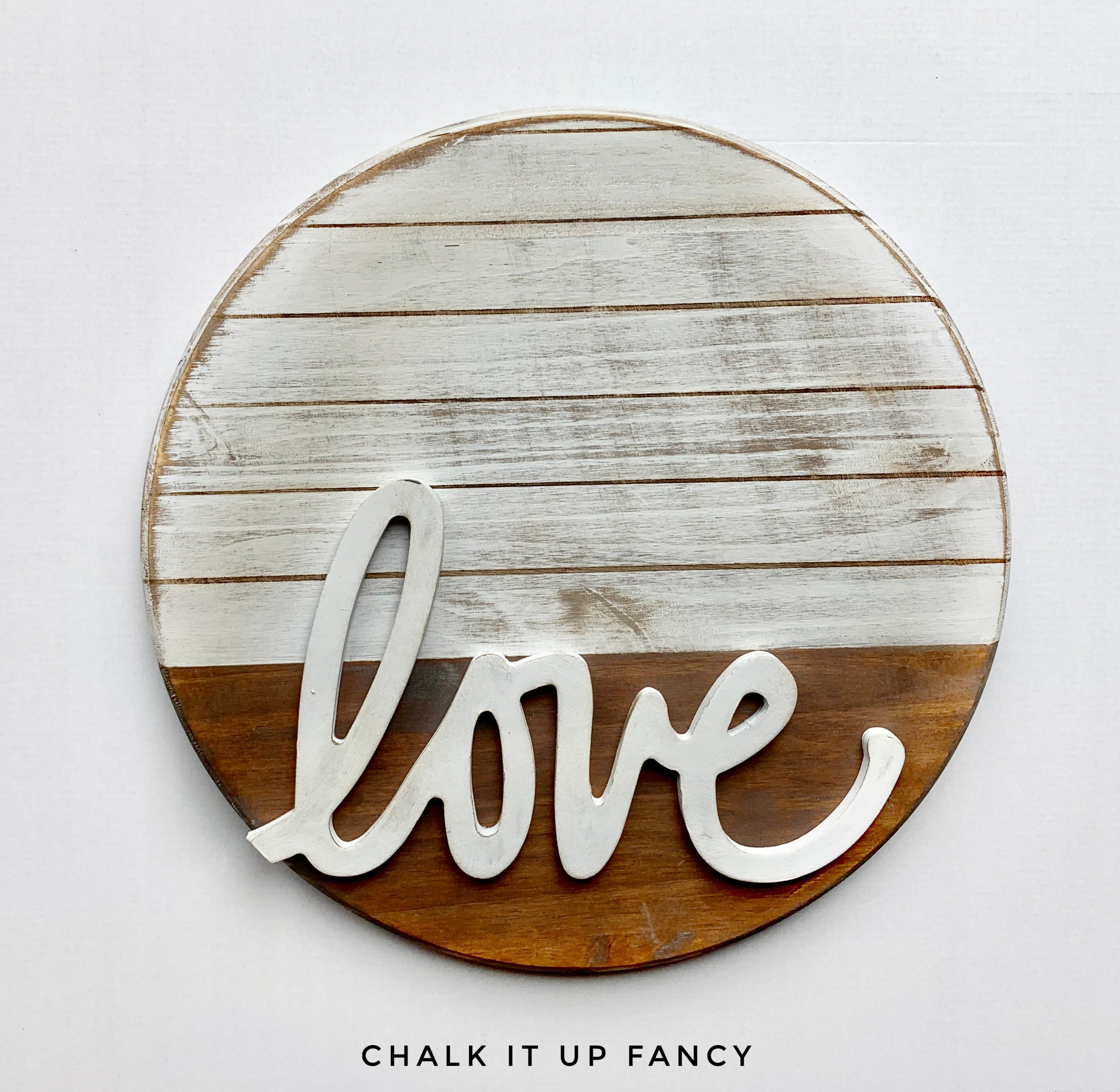 Love Board Sign