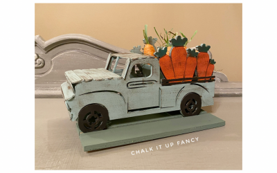 DIY Easter Truck Center Piece Table Decor Supply List