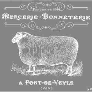 mesh sheep stencil for DIY projects