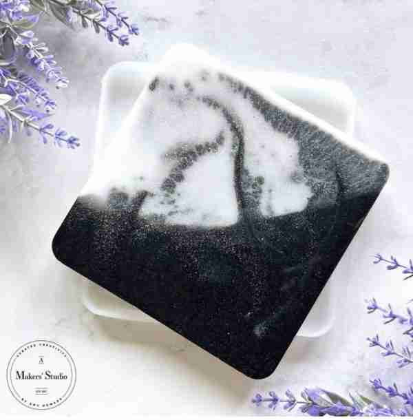 square mold for resin coasters